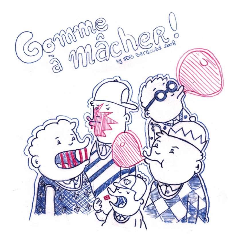 Gomme à macher by SDB Baracuda - PRS of GGI & B.Boukagne
