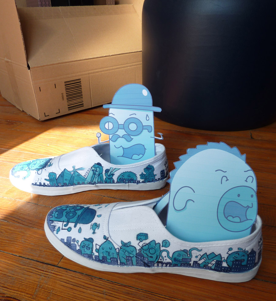 Monsters Attack shoes by PRS of GGI (B.Boukagne)