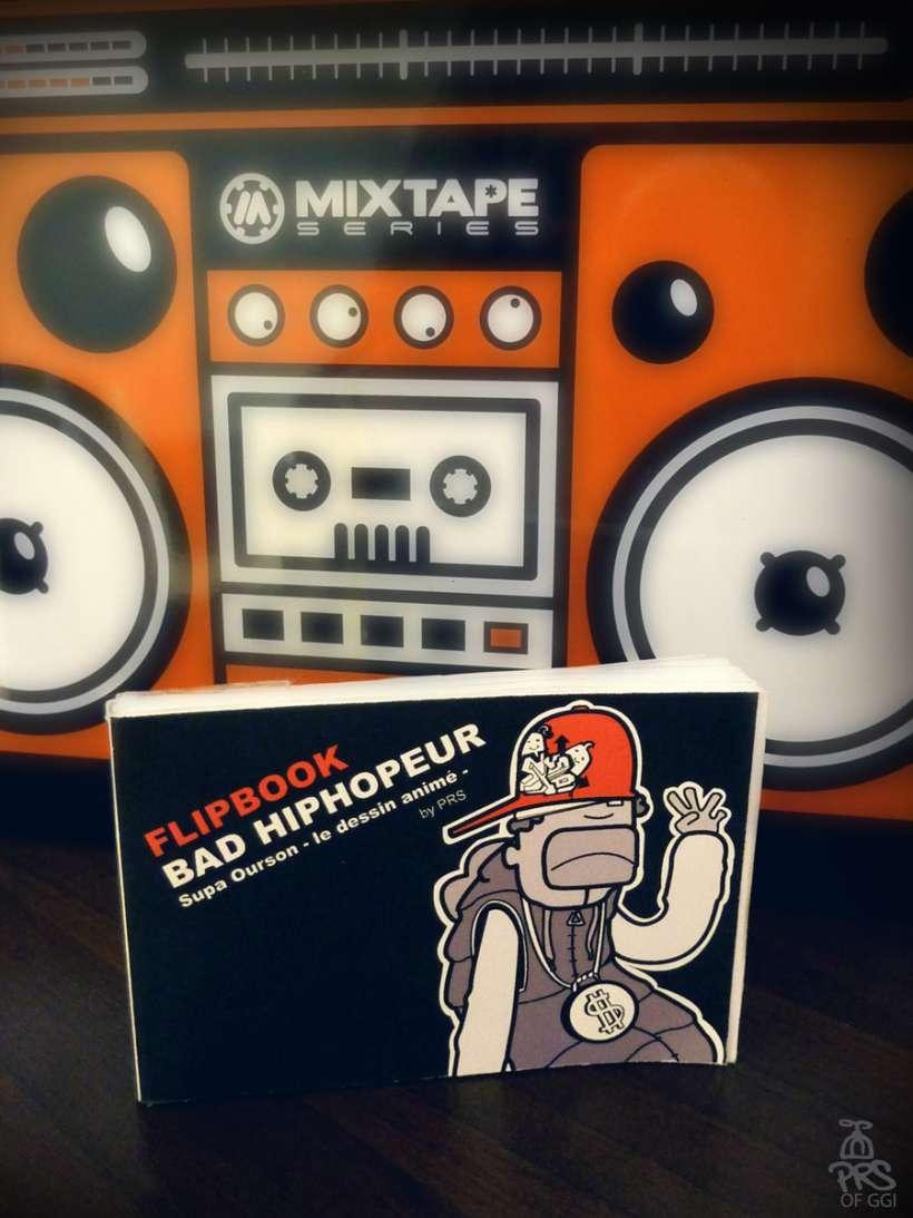 "Photographie Flipbook ""Bad hiphopeur"" by PRS of GGI (B.Boukagne)"